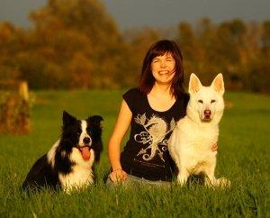 Hundetrainerin Nina Dany